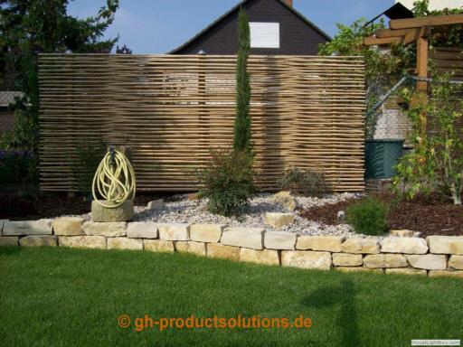 Bambussichtschutz :-) Neuheit  Zäune Sichtschutz  Garten ...