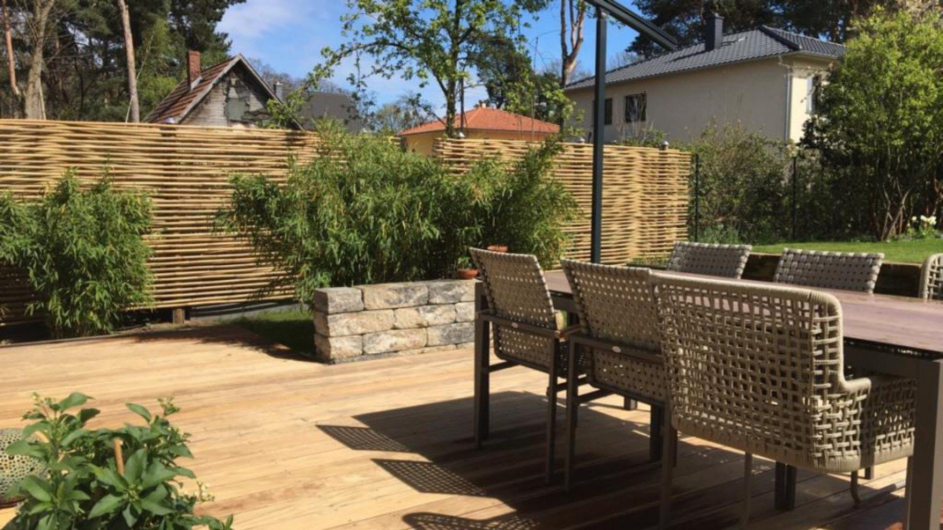 Sichtschutz Ideen für Garten & Terrasse