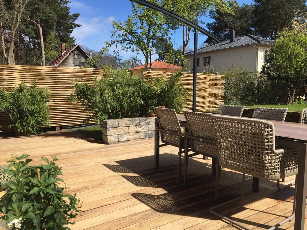 Sichtschutz Ideen für Garten und Terrasse