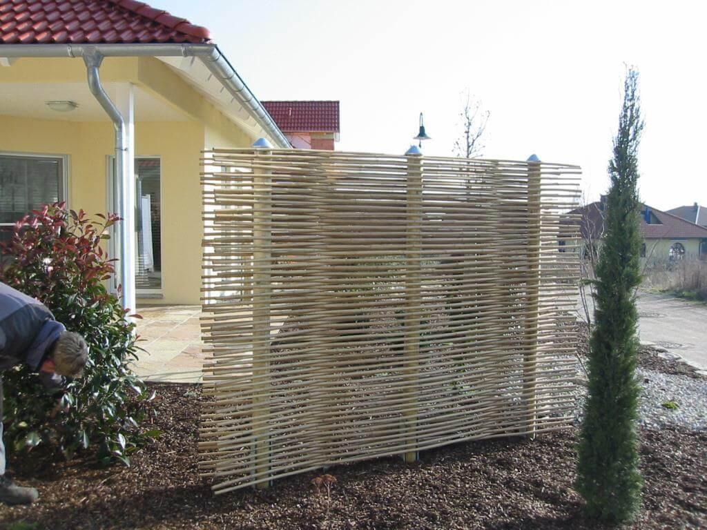 Gartengestaltung Sichtschutz Beispiele Sichtschutzzaun Als