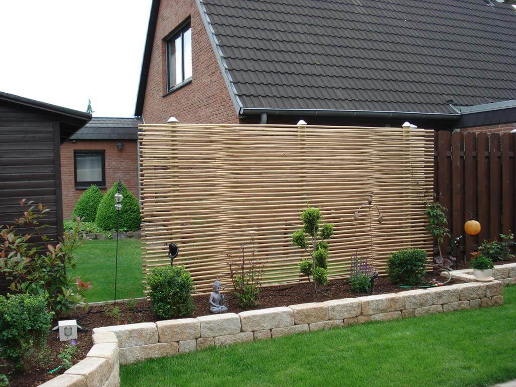 Sichtschutzzaun günstig | Bambusstangen jetzt kaufen
