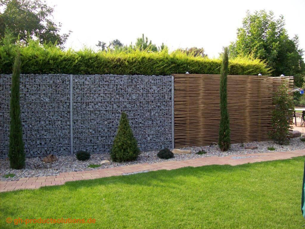 Sichtschutz Ideen Bambus Sichtschutz Im Garten Blickschutz